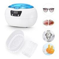 0.6L Digital Ultrasonic Cleaner Manicure Sterilizer Cleaner Nail Art Tools Disinfection Machine Wash Bath Tank Washing Equipment