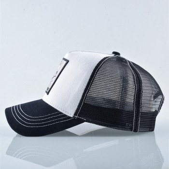 Breathable Mesh Baseball Cap Men Unisex Trucker Caps Women Snapback Hip Hop Bone Fashion Horse Embroidery Men's Streatwear Hat 2
