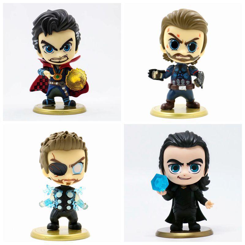 font-b-marvel-b-font-avengers-infinity-war-thor-loki-doctor-strange-captain-america-action-figure-bobble-head-doll-pvc-collectible-model-toy