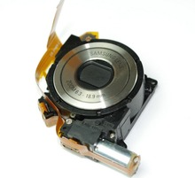 100%new Free Shipping Lens Zoom Unit Assembly Replacement For Samsung L201 L301 S1070 S1075 ST45 ST50 silver