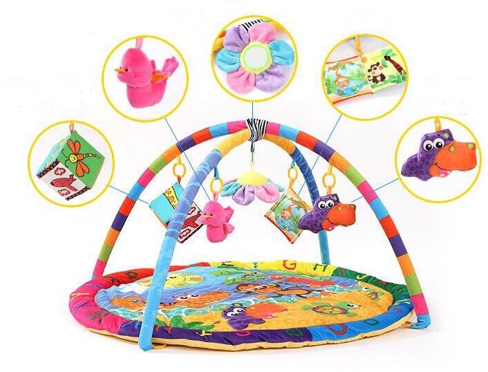 Activité de Jeu pour bébé Tapis Bébé Gym Éducatifs Fitness Cadre Multi-support Bébé Jouets Jeu Tapis - 5