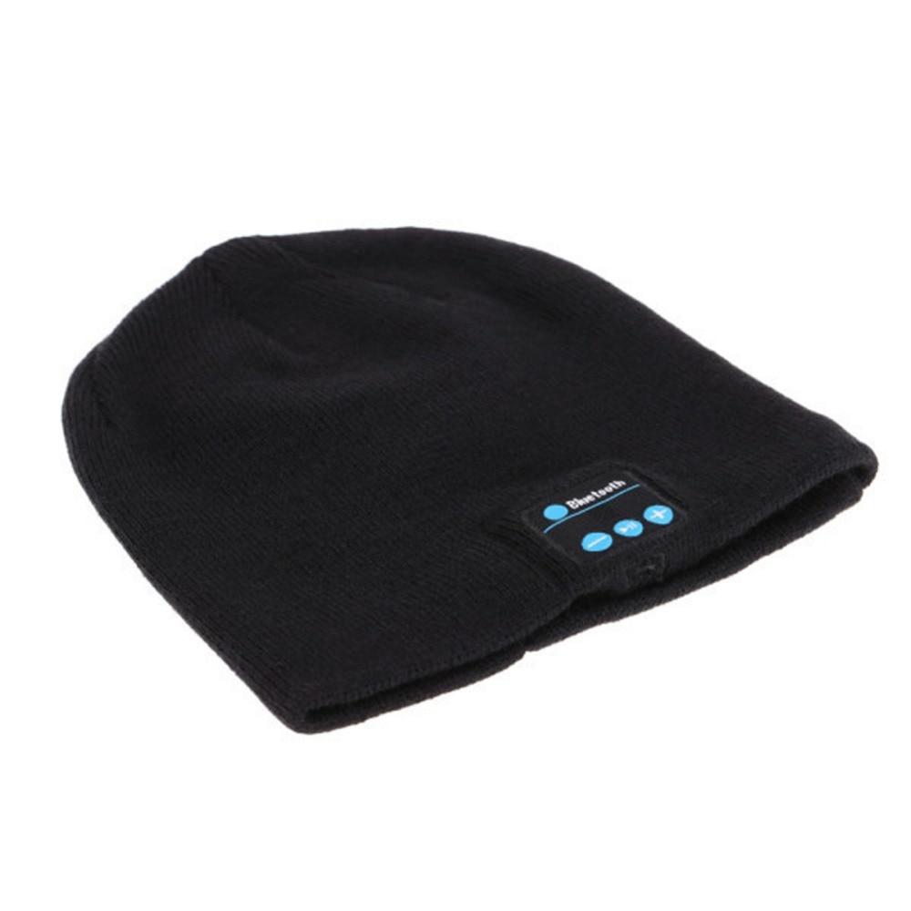 Tragbares Audio & Video Herzhaft Beliebte Bluetooth Hands-free Phone Musik Mp3 Kappe Herbst Und Winter Stil Für Frau Männer Smartphones Ausreichende Versorgung