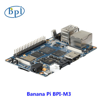 HOT  SALE !!!! For Development board banana PI M3 officially sells eight core A83T processors banana pie