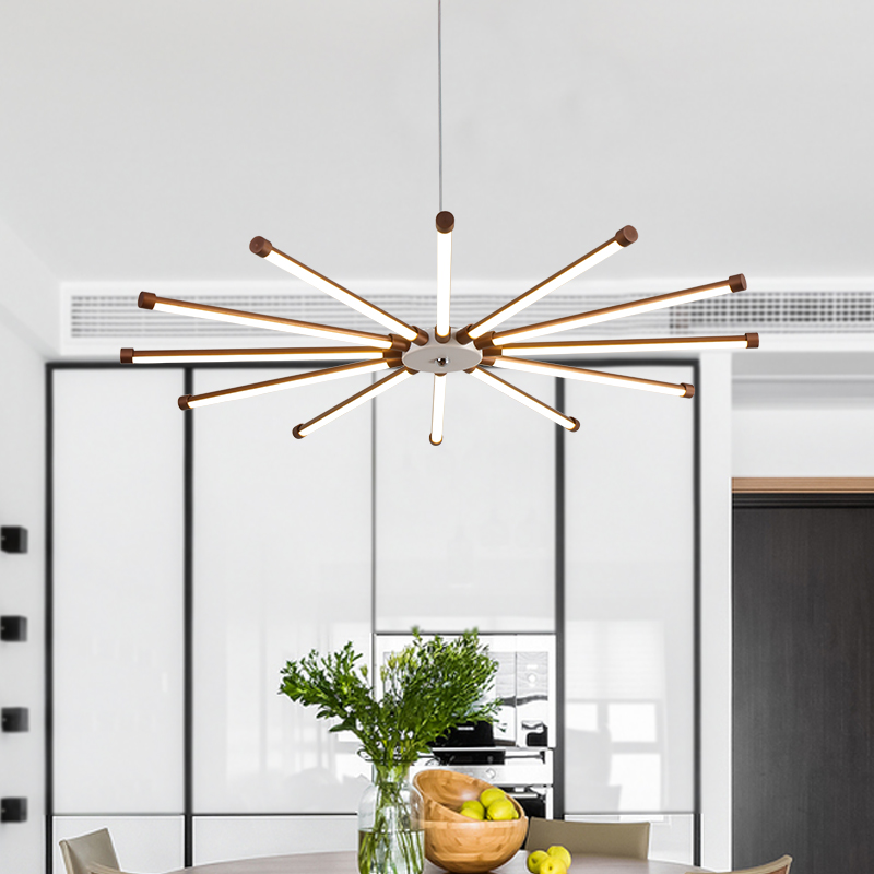 Modern LED living room suspended lamps creative bedroom fixtures Nordic Dining room Pendant Lights restaurant hanging lights