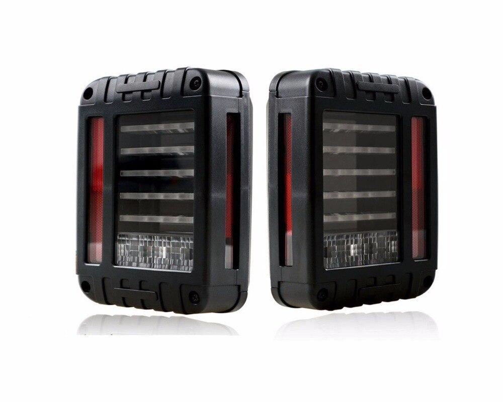 2шт светодиодные задние фонари задний тормоз фонарей заднего хода для Jeep Вранглер JK, светодиодные тормозные хвост свет комплект задний фонарь лампочку