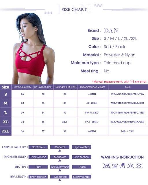 DANENJOY Sexy Yoga Hollow Bra Sports Top Women Cross Breathable Quick Dry Petals Fitness Gym Running Female Sport Brassiere 2017
