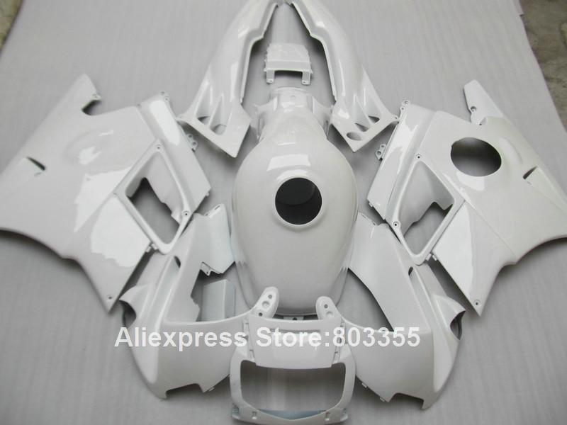 Все белый комплект Обтекателя для Honda ЦБ РФ 600 F2 в 1992 1991 1993 1994 cbr600 ( +крышка бака ) обтекатели 94 93 92 91 xl60