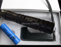 AAA NEW 50000m 5w 532nm High power Focusable Green laser pointers Burning Torch can Focus Burn match pop balloon+charger+Box
