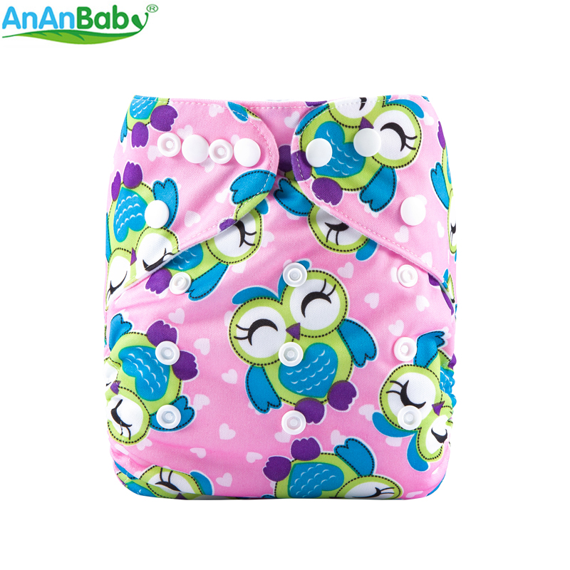 Machine Prints Reusable Pocket Diaper Cover Washable Baby Pocket Diapers ECO Cloth Nappy For 3-13kg W Series