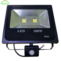 New Arrival Outdoor Led Flood Light with Motion Sensor PIR Sensor led Floodlight IP65 100w 20w 30w 50w led security outdoor
