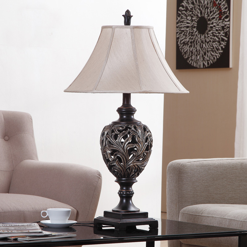 Big Table Lamps Promotion-Shop for Promotional Big Table Lamps on ...:European Retro Palace Style Luxary Hotel Table Light Big Size Home  Decoration Living Room Bedside Table Lamp,Lighting