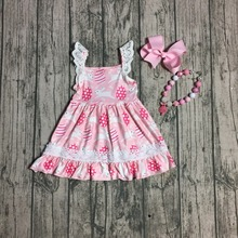Easter Sister Matching Pink Bunny Princess Dresses