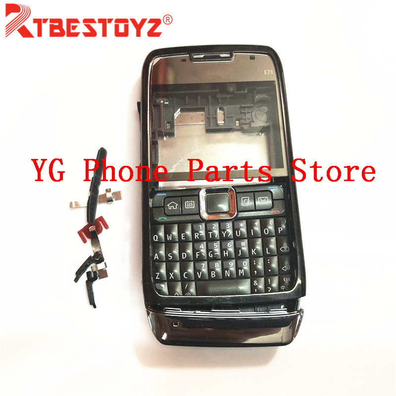 New Full Complete Mobile Phone Housing Battery Cover For Nokia E71+Keypad With Logo