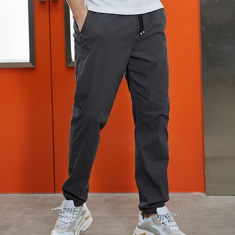Pioneer Camp 2019 Summer Autumn New Casual Pants Men Cotton Slim Fit Fashion Trousers Male Brand Clothing for man AXX901001 Lahore