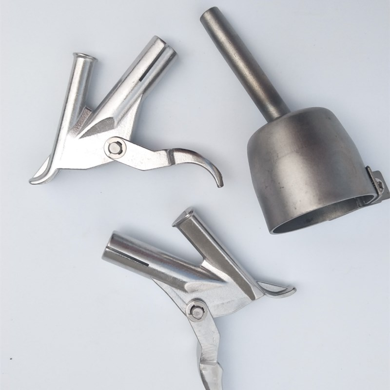 2020 new welding tips tacking and 7mm triangle nozzle 5mm round welding nozzle high quality