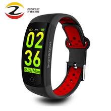 Q6S умный Браслет 3D динамический монитор сердечного ритма кровяного давления смарт-браслет наручные водонепроницаемые спортивные фитнес-часы для huawei