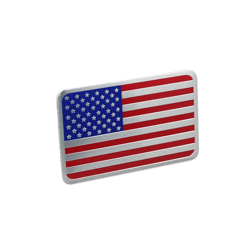 DSYCAR Metal American US Flag Car sticker logo Emblem Badge Car - Exteriör biltillbehör - Foto 3