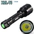 Flashlight C8 Cree XML-T6 LED 2000LM Torch Lantern Lanterna for Self Defense Camping Light Lamp for bicycle