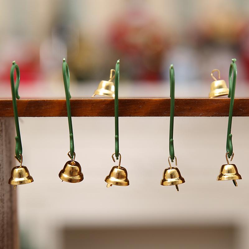 20Pcs Christmas Mini Bells Christmas Decorations for Home Decoracion Navidad Christmas Tree Decorations Christmas Ornament. Q 9