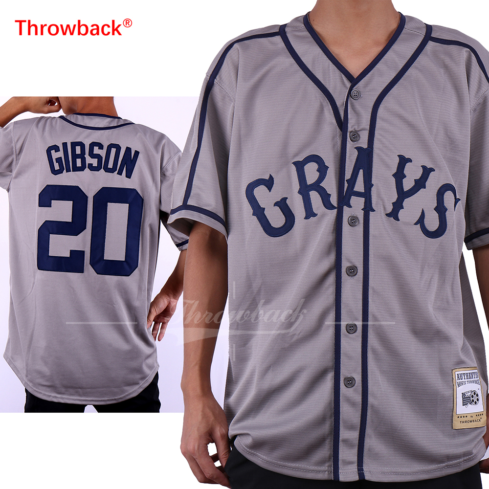 Horlohawk 2017 New Baseball Jersey Josh Gibson #20 Homestead Grays Negro National League Button Down Baseball Jersey сетевой фильтр buro 600sh 5 b