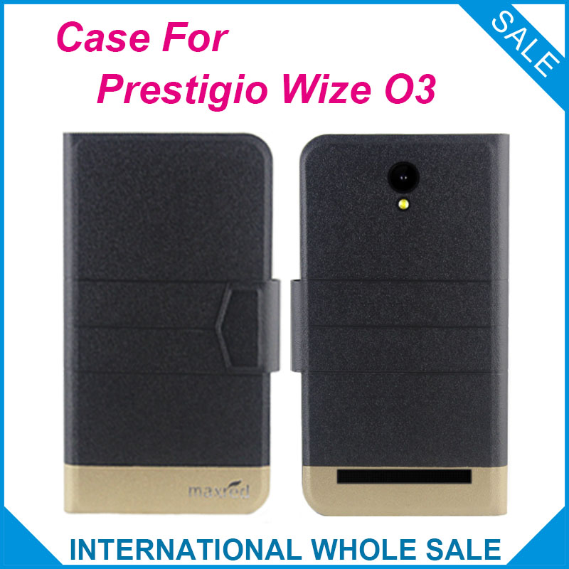 5 Colors Super! Wize O3 <font><b>Prestigio</b></font> <font><b>3458</b></font> Duo Case Fashion Business Magnetic clasp, High quality Leather Exclusive Protective Cover image