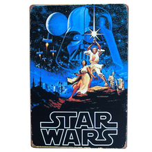 Star Wars Metal Tin Sign Room Vintage wall plaque Art Poster Painting