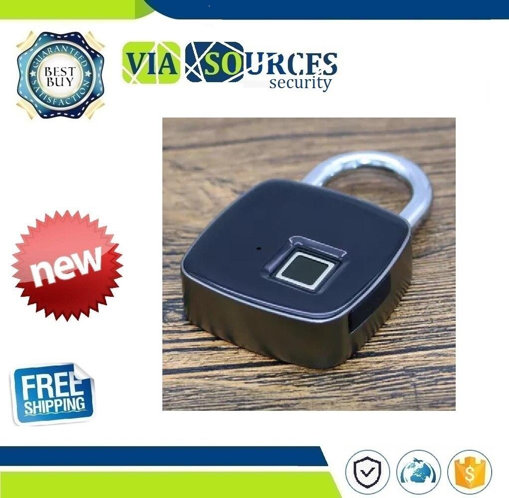 USB Rechargeable Smart Keyless Fingerprint Lock IP65 Waterproof Anti-Theft Security Padlock Door Luggage Case Lock free shipping security smart portable fingerprint padlock luggage lock bag drawer lock