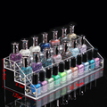 Nice gift for laies nail polish stand nail polish bottle storage made of acrylic with assembly part design good craft high level