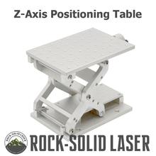 Z-Axis позиционирование движущийся алюминий Рабочий стол верстак DIY рабочие части лазерная маркировка гравировальная машина с фабрики