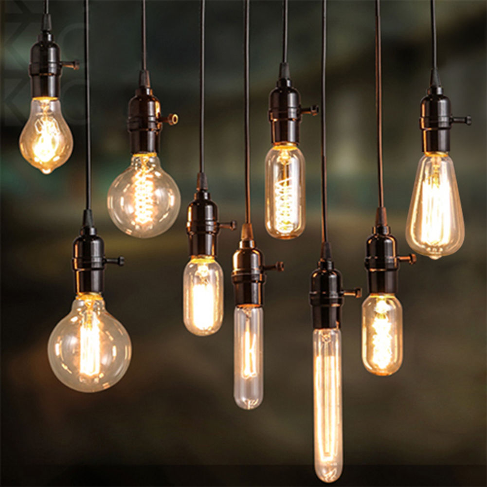 40W Bulb Filament Light Bulbs Vintage Retro Industrial Style Edison LampE27 220V