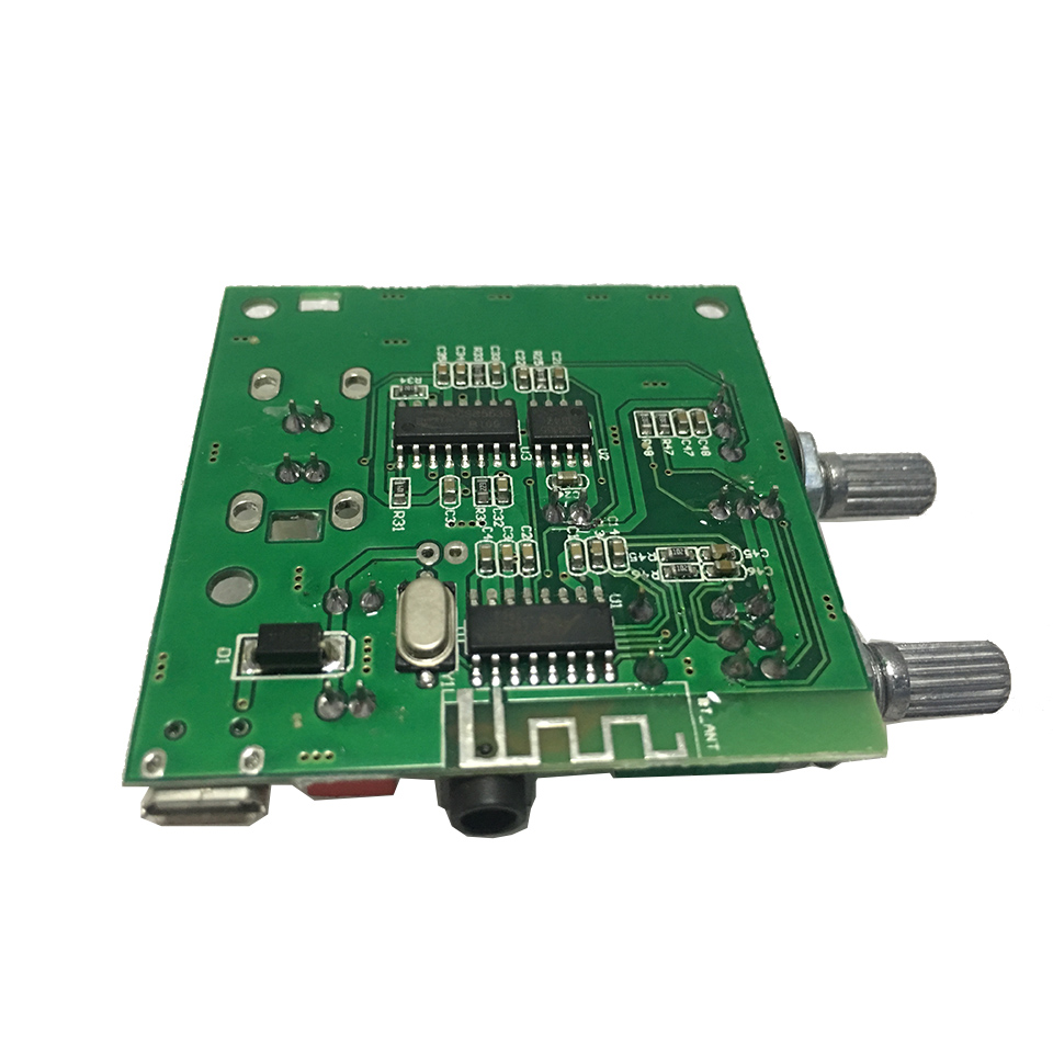 Image 5 - Bluetooth 5.0 Subwoofer amplifier 5W*2+10W  stereo digital amplifier board 5V3A with bass adjustment-in Amplifier from Consumer Electronics