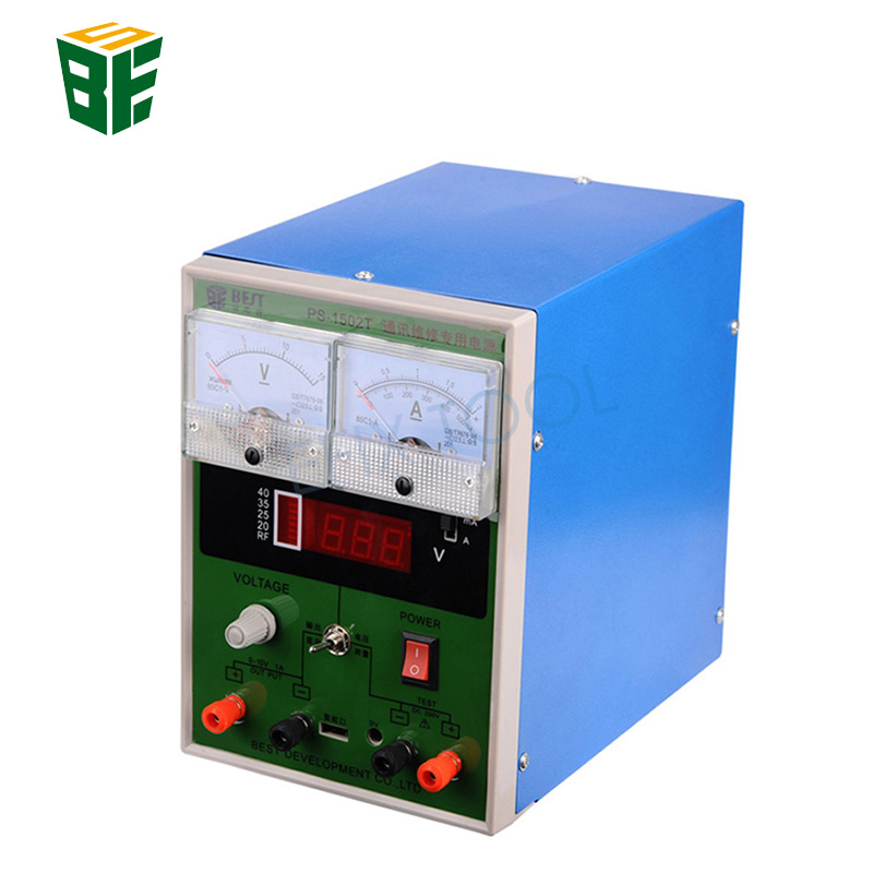 BST-1502T DC Regulated Power Supply 15V 2A Repairing Power Supply For Mobile Phone Repair Test yihua 3010d 30v 10a adjustable regulated dc power supply for computer mobile phone repair test
