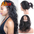 360 Lace Frontal 360 Frontal Brazilian Virgin Hair Loose Deep Wave Brazilian Lace Frontal Closure Lace Frontals With Baby Hair