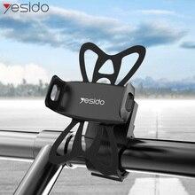 Yesido C42 Bike Bicycle Motorcycle Phone Holder Stand Handle Handlebar Mount For 4-6.5 Inch Phones GPS