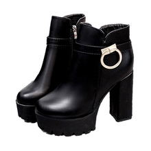 women height platform boots fashion high heel round toe sexy ankle boots shoes laddies casual shoes zapatos de mujer women boots fashion motorcycle boots women extreme high heel round toe dance boots sexy leather irregular ankle boots