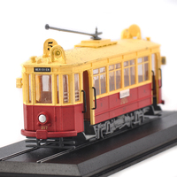 10 Styles ATLAS 1 87 19th Century Tram Cable Car Model Of Diecast Vehicles Metal Alloy