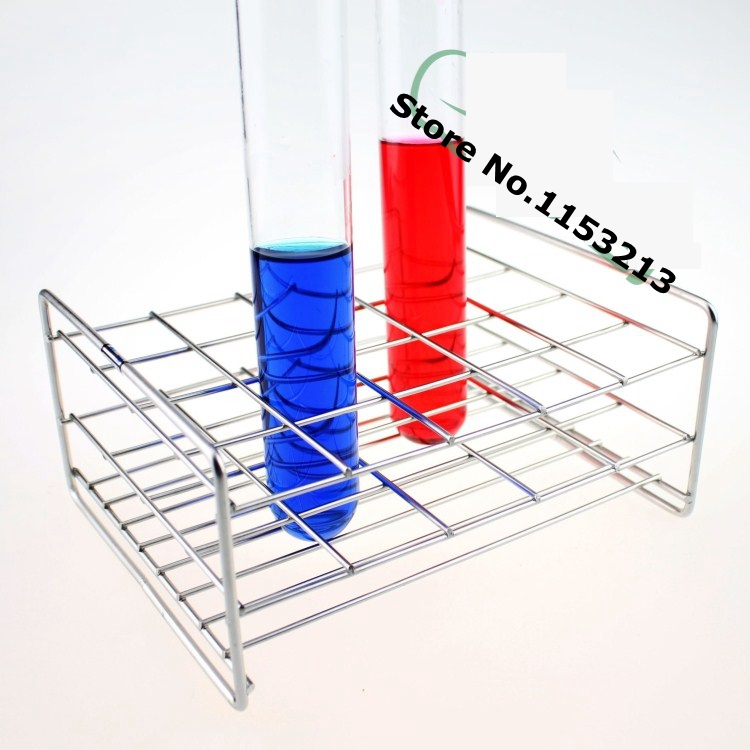 Wire Professional Test Tube Rack Stainless Steel Suitable tube diameter 14.5mm/15mm/16mm/ 30 holes 316l stainless steel wire soft diameter 1mm length 5 meter
