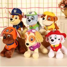 12-30cm plush  Patrol Dog Toys Russian Anime Doll Action Figures Car Patrol Puppy Toy Patrulla Canina Juguetes Gift for Child