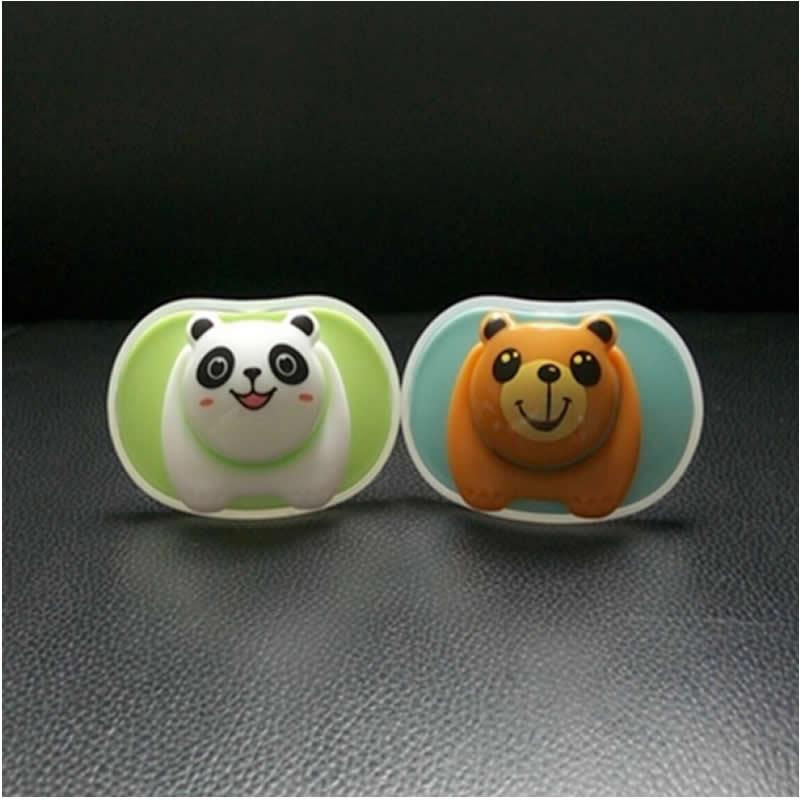 The New Baby Pacifier Bear Pacifier Panda Chupeta Silikon Baby Teat - Baby mating - Bilde 2
