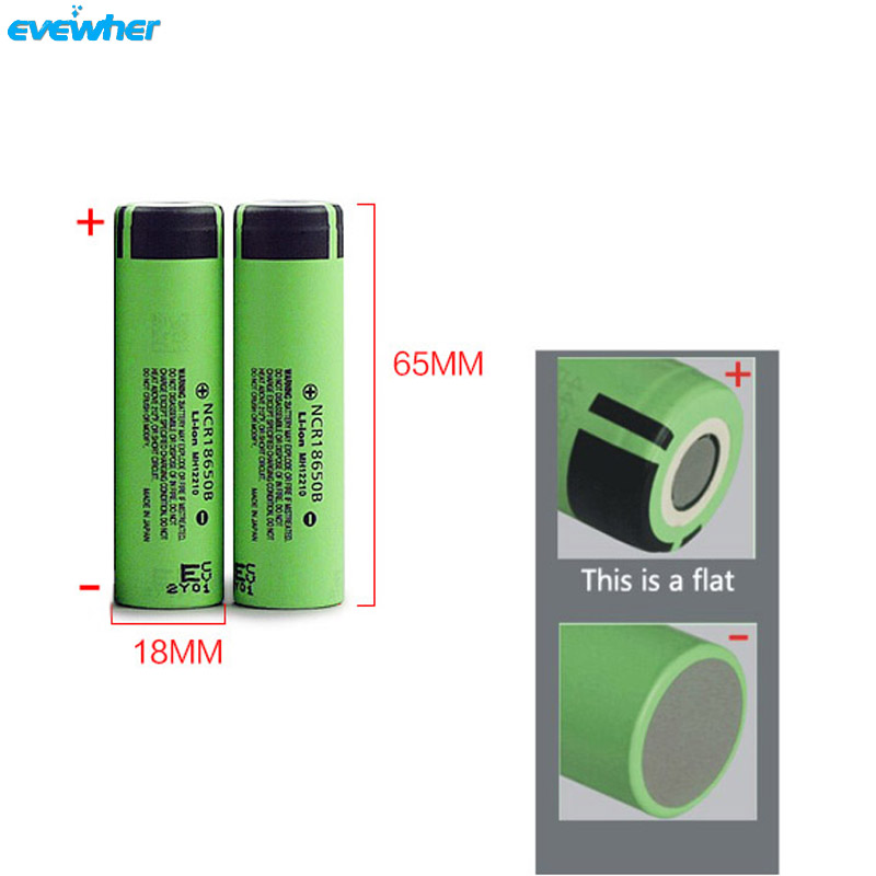 3.7V Flat Rechargeable Battery For SSS Originally 3200mah 4pcs battery lithium 18650 Batery Wholesale Retailsale