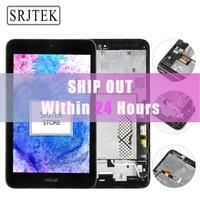 Srjtek LCD Display Panel Screen Monitor Touch Screen Digitizer Sensor Glass With Frame For ASUS VivoTab