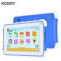 Original XGODY 711 7 Pulgadas Niños Tablet PC Android OS Allwinner A33 Quad Core 8 GB Tabletas para Niños Early Education Parent Modo