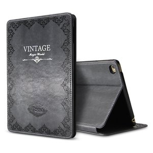 Image 3 - for iPad Air 1 Air 2 9.7 5th 2017 6th 2018 Case Luxury Vintage PU Leather Smart Cover Fashion Business Stand Holder Book