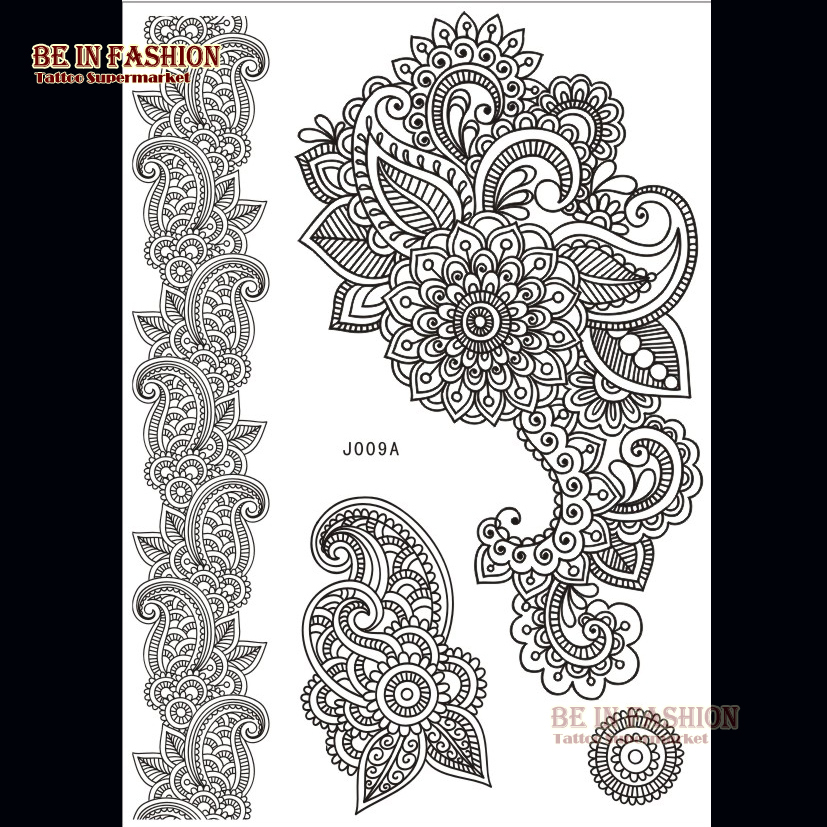 Tattoo Type Mehndi : Online get cheap wedding tattoos aliexpress alibaba