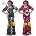 Summer Dress 2016 Two Piece Set Women Half Sleeve Crop Tops & Long Skirt Sets Mermaid Maxi Dresses Long 6XL WY189