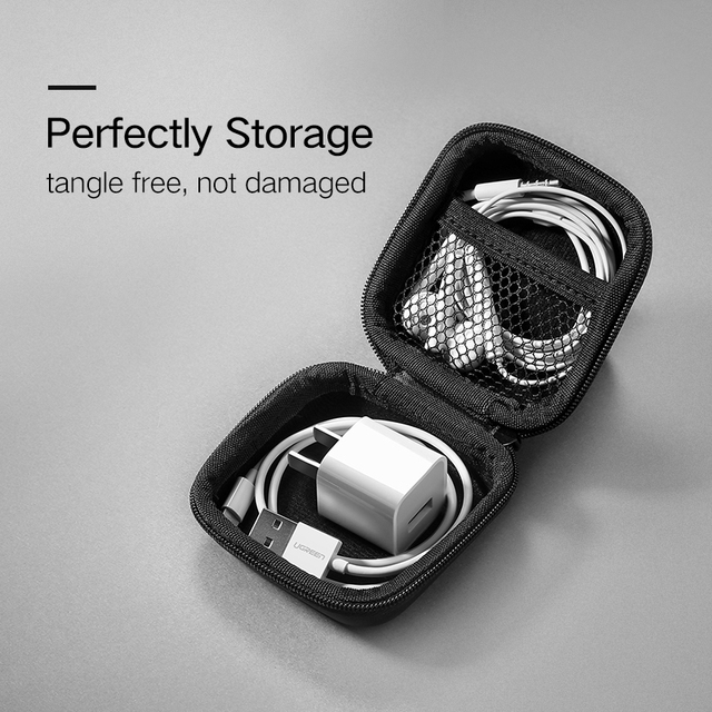 for Memory Card USB Cable Organizer Mini Earphone Bag Headphone Case Bag Portable Earphone Earbuds Hard Box Storage