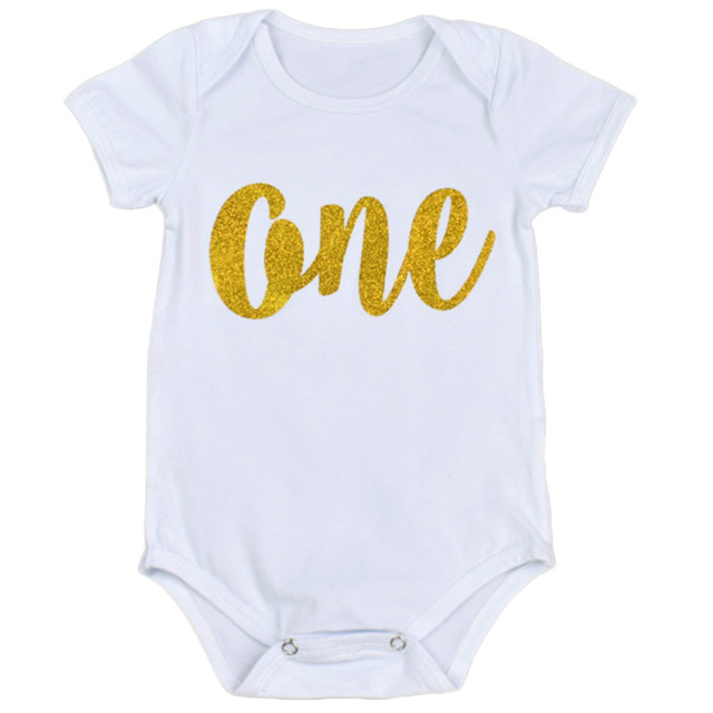 c27aa4dbae2 Newborn Infant Summer Romper Toddler Baby Girl Boy Black White Christmas  Birthday Jumpers Rompers Playsuit Outfits Clothes 0-24M