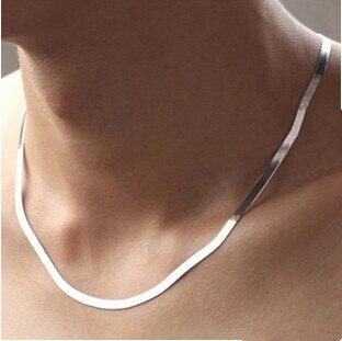 2017 neue ankunft hochwertige klassische design männer halsketten 925 sterling silber männer halskette schmuck förderung großhandel geschenk