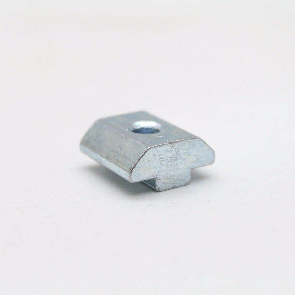 20 штук Т Гайка Блок m6 для 40 серии алюминиевый профиль Слот 8 мм cpc115
