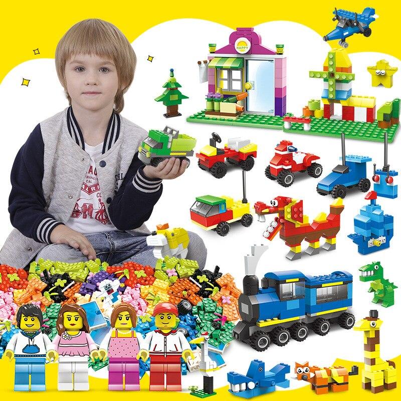 Verantwortlich Legoing Bausteine Kinder Intelligenz Spielzeug Diy Kreative Kleine Partikel Spielzeug Ziegel Preisnachlass